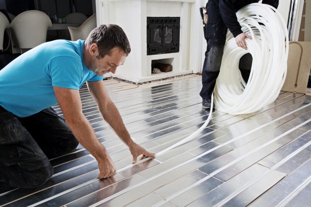 Så installerar man golvvärme